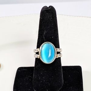Jewelry - 🌜3 for $25🌛Double Sided Unique Blue Pink Ring